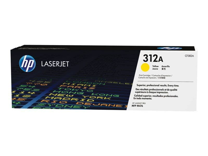 HP 312A (2,700 Pages) Yellow Original Toner CF382A