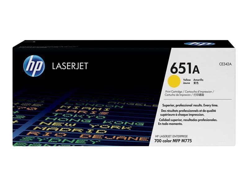 HP 651A Yellow CE342A 16k pages