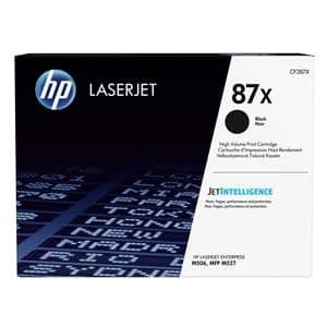HP 87X (Yield 18,000 Pages) Black Original LaserJet Toner Cartridge