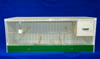 JH Single Breeding Cages - Budgie, Parakeets, lovebirds 124x40x40 (16P114)