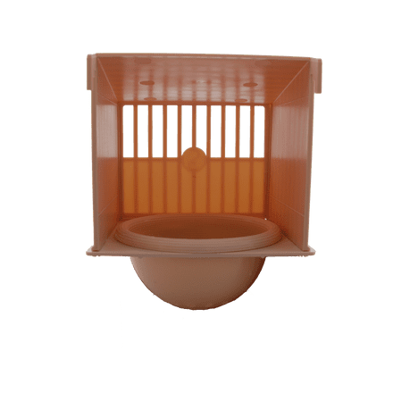 PLASTIC NEST PAN brown
