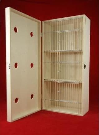 Transport box with cover, large, 3 compartments  06E21