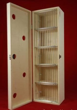 Transport box with cover, small 5 compartments, (06E03)