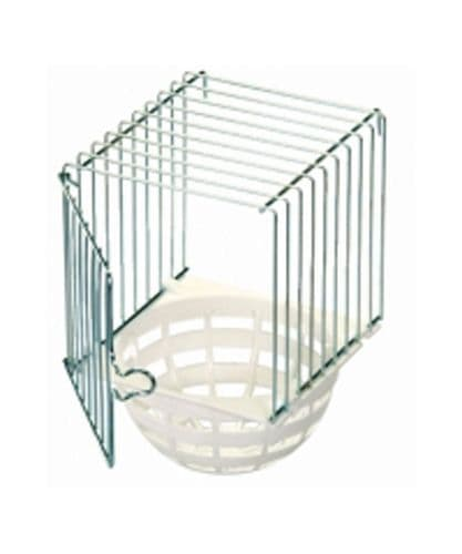 Wire/Plastic Nest box with Pan (Hung Outside)