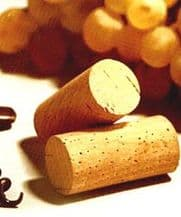 Natural Wine Cork - #9x38mm - 1st Quality (Bag of 50)