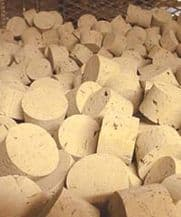 RL22 Natural Tapered Cork Stoppers (Bag of 40)