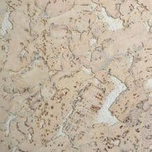 Tackboard Cork Wall / Ceiling Tiles - Marble White (Pack of 5)