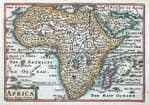 AFRICA Original Antique MAPS