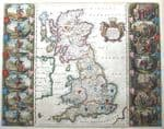 BRITISH ISLES Original Antique MAPS,  County Maps, Old UK maps arranged by county.