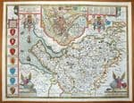 CHESHIRE Original Antique Maps