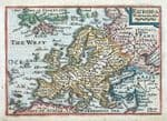 EUROPE Original Antique MAPS