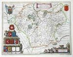 LEICESTERSHIRE Original Antique Maps