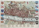 LONDON Original Antique Maps