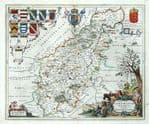 NORTHAMPTONSHIRE Original Antique Maps