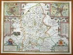 STAFFORDSHIRE Original Antique Maps