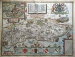 SUSSEX Original Antique Maps