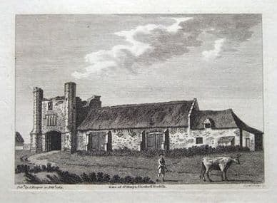 THETFORD, NORFOLK, St. MARY'S Copper antique print 1783