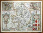 WARWICKSHIRE Original Antique Maps