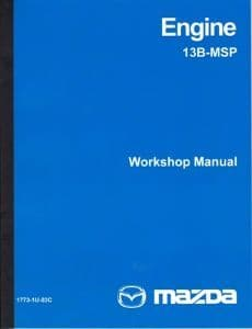 Mazda RX8 Engine Rebuild Manual