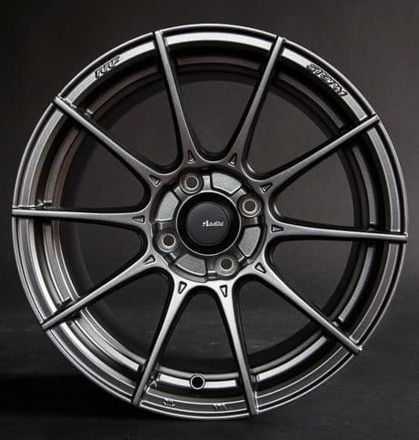 Advanti Racing Storm S1 16x8 Grey or Black  +35 offset Wheels Set of Four