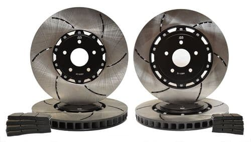 Ferrari 458 Italia 599 & Californian RacingBrake Iron Disc Kit Replacing  Front & Rear OE CCM Discs