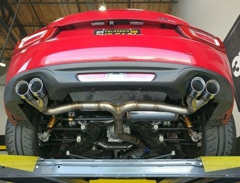 Fiat 124 & Abarth RoadsterSport QUAD Exhaust Cat Back System