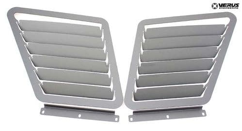 FIAT 500 Abarth -Bonnet Louver Kit by Verus Engineering