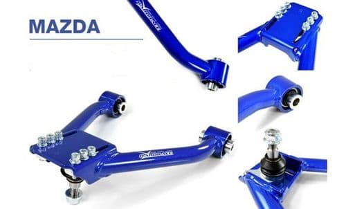 HardRace FRONT Xtra Camber Top Arm fits MX5 NC and RX8