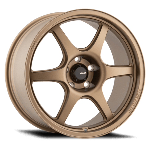 Konig Hexaform 17x8 4x100 +45 Matte Bronze or Matte Black