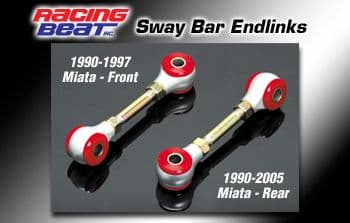Mazda MX5 (1990-1997) Racing Beat Roll Bar Endlinks
