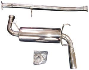 Mazda MX5 Complete Cat-Back RoadsterSport 3 Polished Stainless Steel Exhaust 1989-1998 NA NB