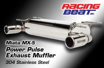 Mazda MX5  NC (2006-2008)  Racing Beat Power Pulse Silencer