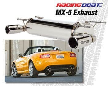 Mazda MX5 NC 2009-2015 Racing Beat Power Pulse Silencer