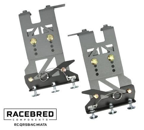 Mazda MX5 NC Quick Release Splitter Brackets / Racebred Components