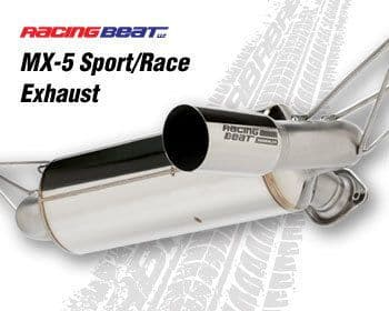 Mazda MX5 ND 2016 -19 Racing Beat Race/Sport (Single Tip Outlet) Exhaust 1.5 & 2.0