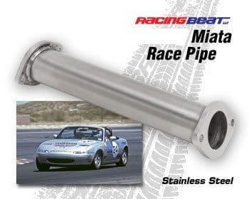 Mazda MX5 Racing Beat De-Cat Race Pipe 1600cc models up to 2005  370mm length