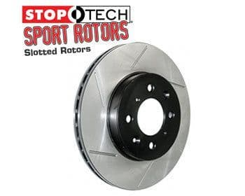 Mazda RX7 (79-83) FRONT Set Stop Tech Sport Brake Discs - Slotted