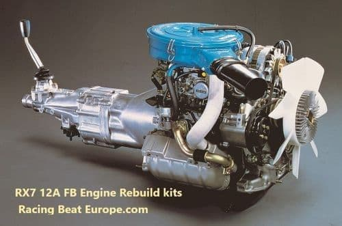 Mazda RX7 FB Engine   Kits , Rotary Porting, Parts & Cooling System