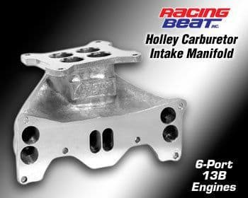 Mazda RX7 Holley Intake Manifold 84-92 13B 6-Port Engine