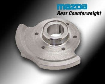 Mazda RX7FD3S  Counter Balance Weight Genuine Mazda