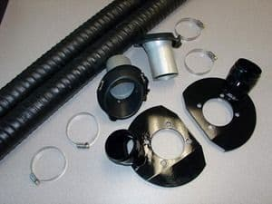 Mazda  RX8  Brake Ducting Kit to Keep your Brakes Cool