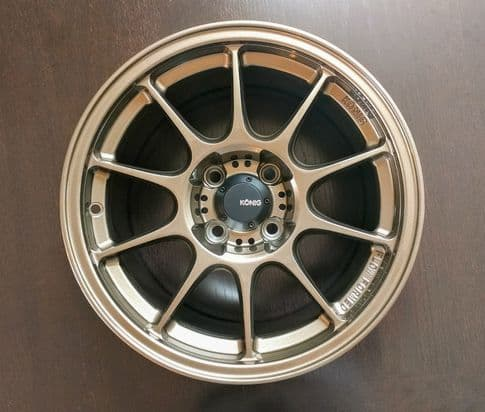 MX5 NA & NB Advanti Racing Storm S1 15x9 Matte Bronze or Gloss (Exclusive Colours)