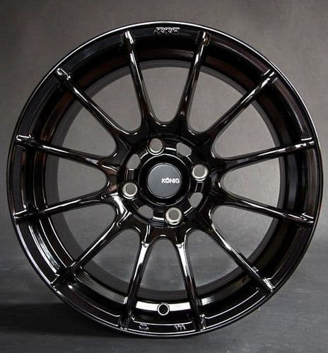 "MX5 NA & NB Konig Dial  15x8"" or 15x9""  Gloss Black"