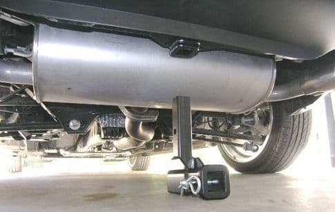 MX5 NC Hard Dog Hideaway Vertical Receiver Hitch
