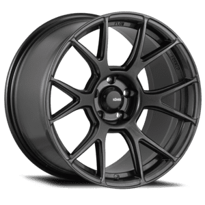 MX5 ND Konig Ampliform Wheels  17x8 4X100 ET45 Dark Metallic Graphite