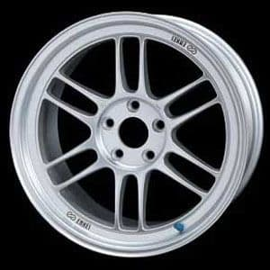 RX8 & RX7FD  Enkei RP-F1 45mm offset Silver finish 18x9.5 114.3  x 5  Set of Four
