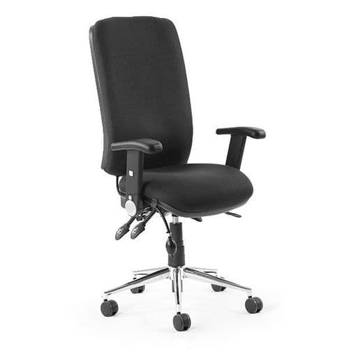 Chiro High Back Office Chair With Folding Arms