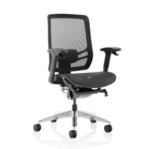 Ergo Click Black Mesh Seat and Back Office Chair