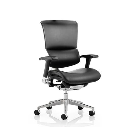 Ergo-Dynamic Leather Office Chair