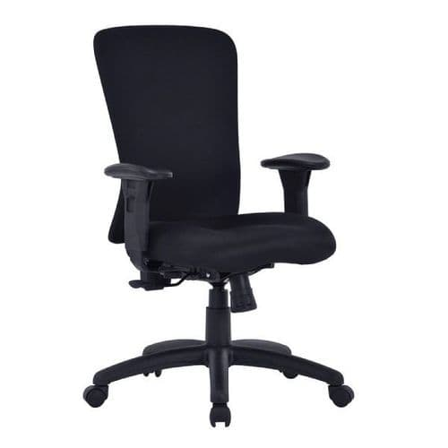 Fortis Bariatric Office Chair - 180kg Rated Gas Lift